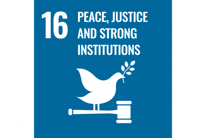 Goal 16 - Peace, Justice and Strong Institutions