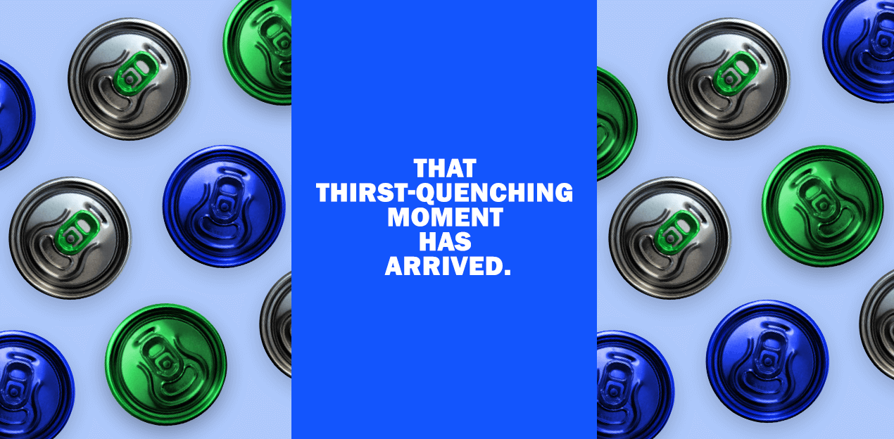 That thirst-quenching moment has arrived.