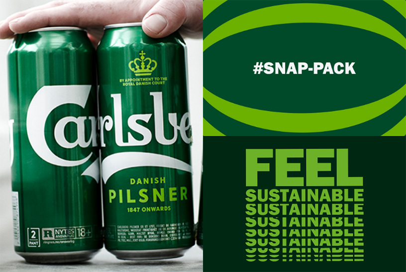 Feel sustainable #SNAP-PACK
