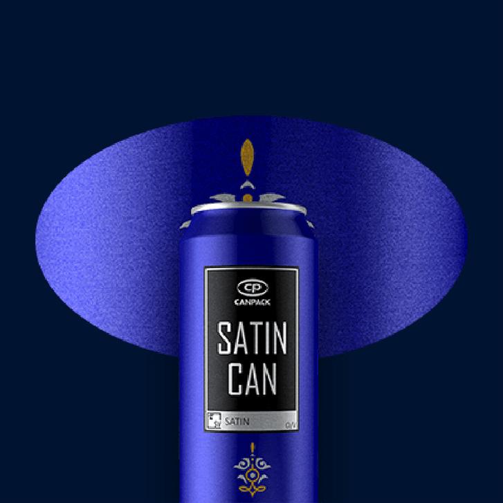 Satin can